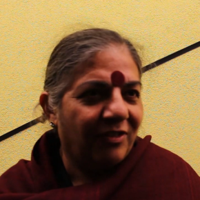 Soutien de Vandana Shiva